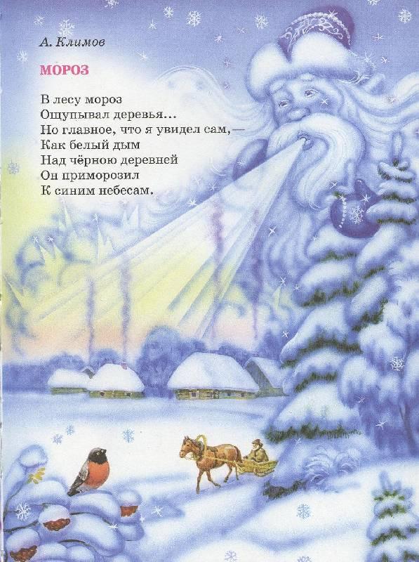 Прикольные стишки про зиму