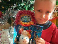 Веселый снеговик Виталика