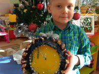 Новогодние часы Алёши