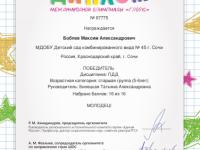 Боблев Максим